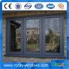 熱い製品新しいデザイン緩和されたガラスが付いているアルミニウム開き窓のWindows