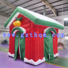 Большие напольные украшения рождества/смешная раздувная дом украшения рождества