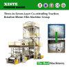 Drei bis sieben Schicht-Co-Verdrängenzugkraft-Umdrehung durchgebrannte Film-Maschine