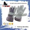 Серая перчатка работы техники безопасности на производстве Split кожи Cowhide