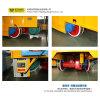 vehículo plano eléctrico de acoplamiento de la transferencia del equipo de la grúa 60t