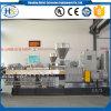 Machine de composition en plastique d'extrudeuse de granules de PA d'animal familier de LDPE pp de HDPE