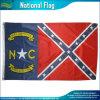 USA-Polyester 3 ' x5 im Freienfahnen-Land-Nord-Carolinarebellenmarkierungsfahne (J-NF05F09061)
