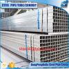 Beschichtung-As1163 galvanisiertes quadratisches Gefäß 80*80*1.5mm des Zink-120g