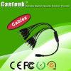 CCTVのカメラのアクセサリ8CH電源コードのディバイダー(CK-8H)
