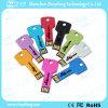 Multi Farben-Metallaluminiumschlüsselform USB-Feder-Laufwerk (ZYF1730)