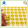 2016promotion Custom Adhesive Happy Face Sticker per Gift (JP-s010)