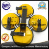 Bewegliches vier Cup Stahlglassaugen-höhlt Saugheber Wt-4009