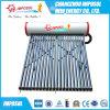 Metalización al vacío todo vidrio del tubo del calentador de agua solar