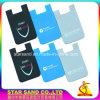 Coche de silicona celular titular de tarjeta de negocios, montaje antideslizamiento Monedero Teléfono