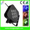 9 X10W Navulbare LEIDENE Lichte LEIDENE van het PARI Lamp