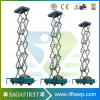 table élévatrice aérienne électrique montée par camion de ciel d'économie de 10m 12m