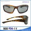 La motocicleta del gancho polarizó las gafas de sol impresas leopardo de Rx