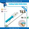 Factory Price (POD-C004)の新しいバージョンFolding Cable Selfie Stick