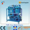 Purificación y reciclaje de aceite de la turbina del vacío del uso del aceite lubricante de la máquina