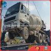 no local encerrando o transporte Japão-Usado do caminhão do misturador concreto de Isuzu por Liso-Cremalheira-Recipiente