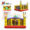 El patio al aire libre de la jirafa infla subir del castillo (CH-IS3017)