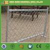 Belüftung-überzogenes Kettenlink-Zaun-Panel mit Gatter