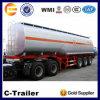 Schweres Capacity 3 Axle 42000L Fuel Tank Truck Trailer