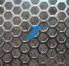 打つ熱い販売の六角形の穴六角形の穴の穴があいた金属の網