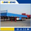 Bulk Cargo Transport를 위한 60t 무겁 의무 Side Wall Semi Trailer Used
