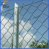 Clôture galvanisée de maillon de frontière de sécurité/bas de chaîne de maillon de chaîne