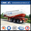 Cimc Huajun 35cbm 3axle Bulk Cement Tanker Without Water Tank