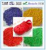 Pour les chaussures des granules de PVC/sandale