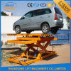 Scissor idraulico Car Rotating Platform con Ce
