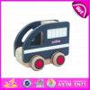 Полицейская машина 2015 миниая Wooden Toy для Kids, Emulational Police Kids Driving Toy Cars, полицейской машины W04A103 Interesting Baby Wooden Toy