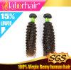 человеческие волосы Extensions Virgin Remy бразильянина 7A 26 '' Kinky Curl 100%