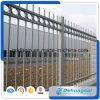 管の柵のやりの上のPremanentの錬鉄の塀
