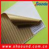 PVC tejido de fibra de carbono. El vinilo de carbono de PVC para la decoración