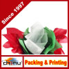 赤く、緑及びホワイトクリスマスのチィッシュペーパー(510048)