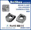 Fixation de serrage de faisceau M8 Steelwork pour fixation de tuyaux