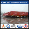 Cimc Huajun Without Cover Van/Box Trailer Exported in Large Scale
