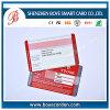 Tarjeta magnética VIP con la firma para el descuento / tarjeta magnética de encargo VIP / tarjeta VIP que visita