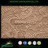Color del panel duro 3.0m m Brown oscuro de Emborssed