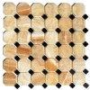 蜂蜜のオニックスの八角形のモザイク・タイルの報酬のタイル