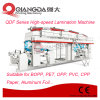 Qdf série lamination à sec de la machine à grande vitesse