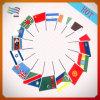 Décoration de Noël personnalisée de bonne qualité Partie pendre des drapeaux du papier de copie