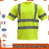 T-shirt élevé de sûreté de visibilité de la marque réfléchissante