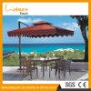 椅子が付いているセットのRetangle表を食事する流行の庭の家具の安い藤