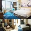家具のホテルの最高の現代チークの木製のホテルの家具のベッド