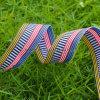 Vestuário colorido de jacquard listrado de moda / roupas elásticas