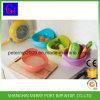 Panier en plastique de légume de drain de mode de lavage de riz de passoire de tamis de cuisine en plastique créatrice de tamis