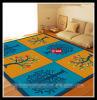 Salon antideslizante alfombras y alfombras, Tapetes Kidds