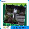 Lampada impermeabile di plastica del cilindro della decorazione esterna LED del giardino con solare