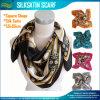 カスタム方法絹のサテンのスカーフのバンダナ(B-NF20F19003)