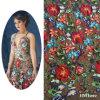 Lacet français de la plus défunte fleur, lacet de la fleur 3D, tissu de robe de mariage, lacet nuptiale de tissus nets français de lacet des guindineaux 3D